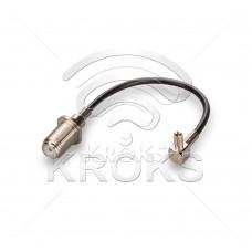 Пигтейл (кабельная сборка) TS9-F (female)