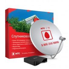 Комплект Спутникового ТВ МТС с антенной